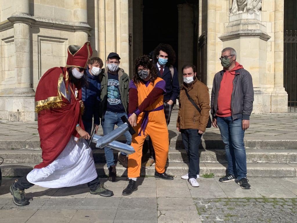 activité extérieure Orléans la légende de saint Aignan