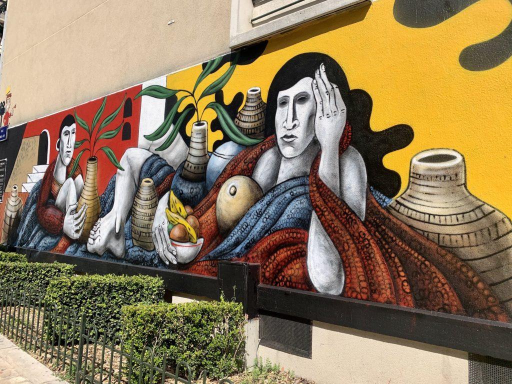 activités extérieures Orléans street art