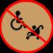 icone pmr pas acces